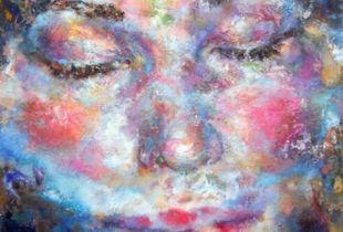 All + Ein 14, 110 x 90 cm, 2013, Öl auf Leinwand
