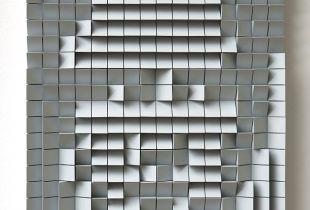 Architecture Portrait, , 44,5 x 36, 2013, Acryl auf Holz