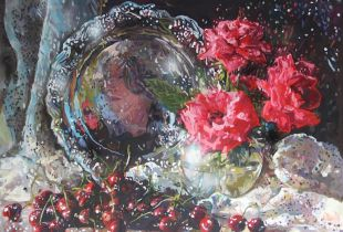 Cherry, 70 x 95 cm, 2013, Öl auf Leinwand