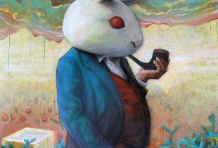 Critic, , 170 x 140, 2012, Acryl auf Leinwand