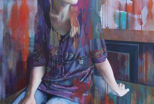 Far, 140 x 100 cm, 2013, Öl auf Leinwand