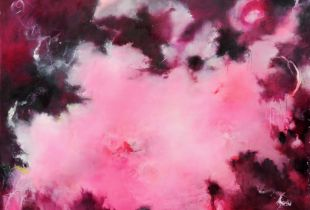 Boreas, , 150 x 170 cm, 2012, Öl auf Leinwand