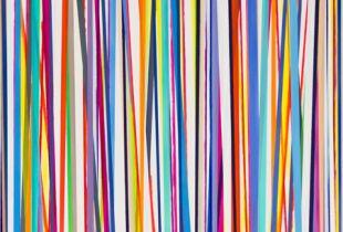 Für Deine Gegenwart, , 200 x 120, 2012, Öl auf Leinwand