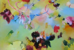 März, , 130 x 140 cm, 2012, Öl auf Leinwand