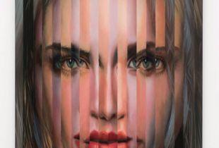 Multipersonality #49, 58 x 42 x 6 cm, 2014, Öl auf Holz