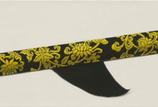 Nach dem letzten Auftrag, Kim, Min Clara, 30 x 125 cm, 2011, Öl auf Leinwand