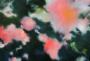 Niemandsrose, , 130 x 140 cm, 2012, Öl auf Leinwand