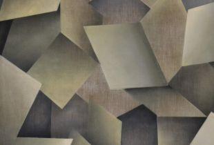 Ohne Titel, , 200 x 160 cm, 2003, Lack auf Leinwand