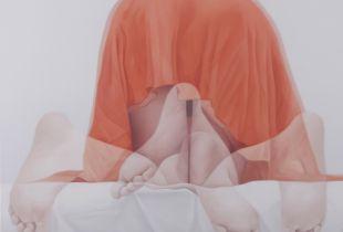 Overlapping, 75 x 75 cm, 2014, Öl auf Leinwand