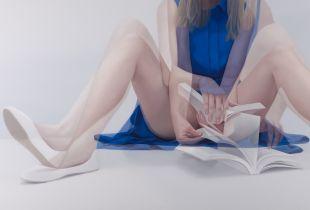 Overlapping, , 80 x 140 cm, 2014, Öl auf Leinwand