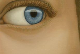 Simon, 50 x 20 cm, 2013, Öl auf Leinwand
